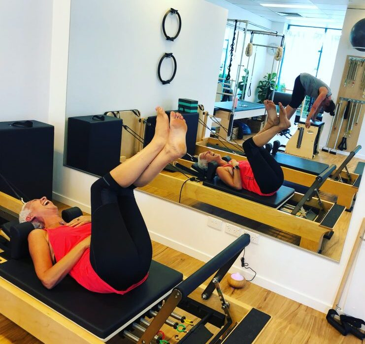 Pure Living Pilates Happy Client
