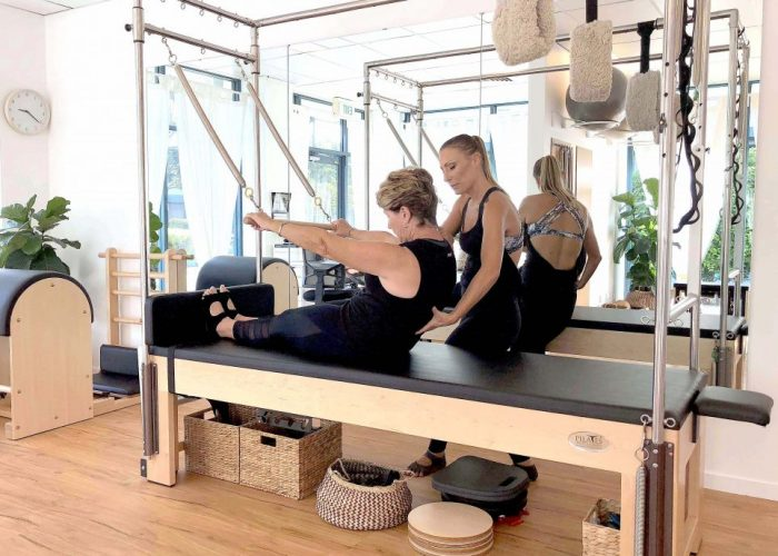 Pure Living Pilates Gold Coast Roll Down Exercise